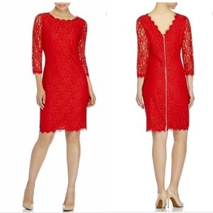 DVF Lace Colleen Dress